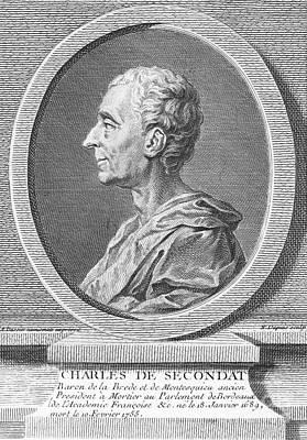 Baron De Montesquieu Art Print by Granger