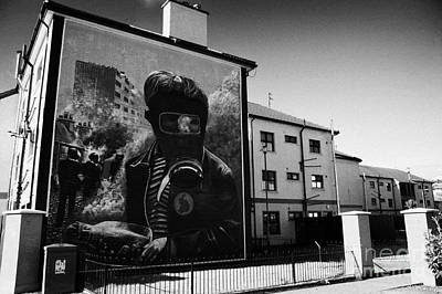 Battle Of The Bogside Mural Derry Art Print
