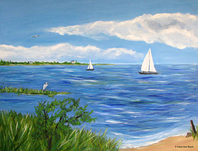 Painting - Bayville 2 by Clara Sue Beym