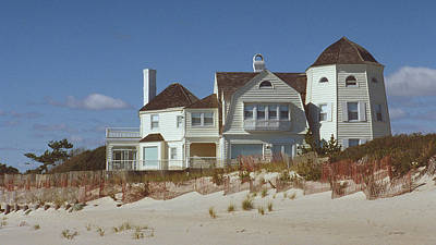 Photograph - Beach House by Mark Greenberg