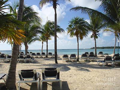 Beach -mayan Riviera- Mexico-yucatan Peninsula Art Print