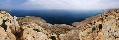 Cyprus Photograph - Beautiful View On Mediterranean Sea From Cape Gkreko In Cyprus by Oleksiy Maksymenko