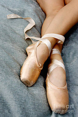 Beauty Is The Pointe Print by Kim Fearheiley
