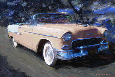 Painting - Bel Air Nocturne by RG McMahon