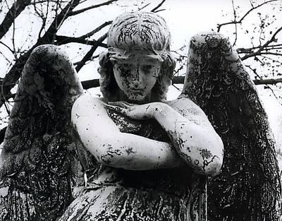 Bellefontaine Angel Art Print by Jane Linders