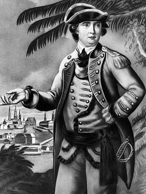 Benedict Arnold 1741-1801, American Print by Everett