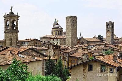 Bergamo Alta Art Print