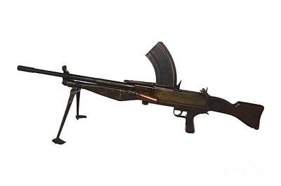 Besal Light Machine Gun Art Print
