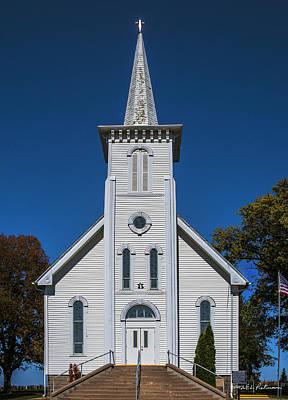 Photograph - Bethesda Lutheran Church by Edward Peterson