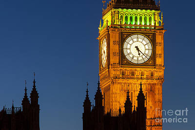 Photograph - Big Ben by Brian Jannsen