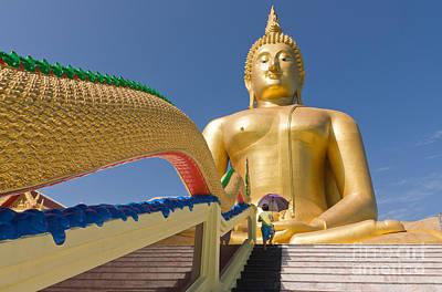 Big Buddha Print by Buchachon Petthanya