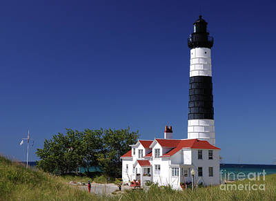 Photograph - Big Sable Point Lighthouse by Ronald Grogan
