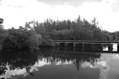 Photograph - Big Sky On The North Fork River In Black And White by Rob Hans