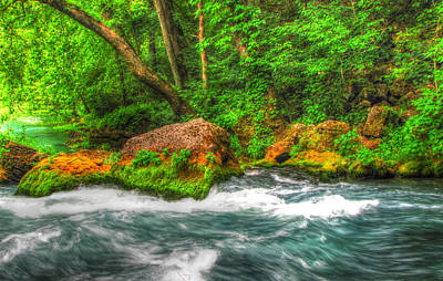 Ozark National Riverways Photograph - Big Spring  by Jackie Novak