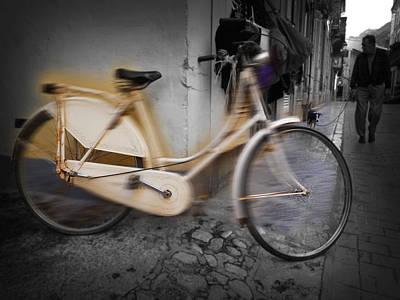 Bike Print by Charles Stuart