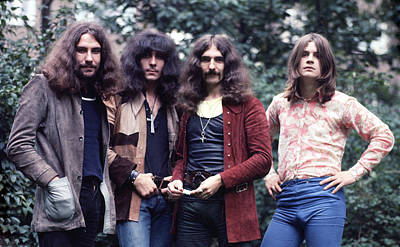 Photograph - Black Sabbath 1970  by Chris Walter