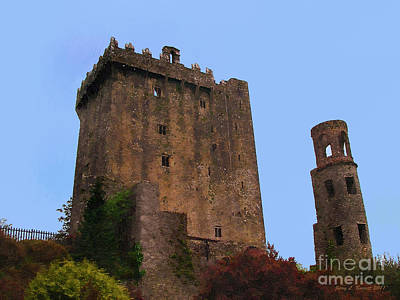 Mixed Media - Blarney Castle by Jerry L Barrett