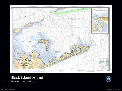 Block Island Sound Art Print by Adelaide Images