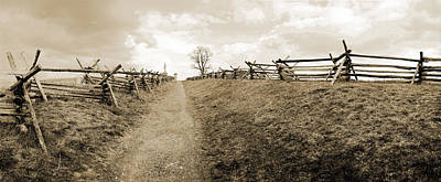 Bloody Lane Antietam Print by Jan W Faul