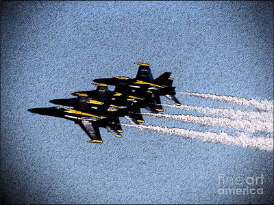 Photograph - Blue Angels 3 by Morgan Wright