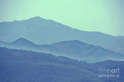 Photograph - Blue On Blue by Julie Lueders