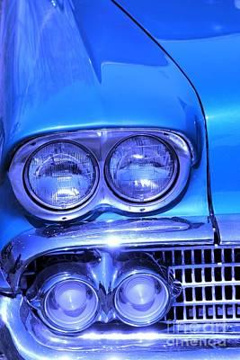 Blue Car Photograph - Blue  by Sophie Vigneault