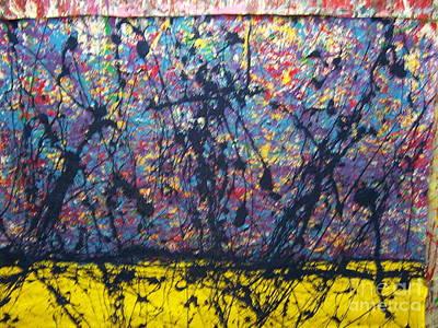 Painting - Blues Before Sunrise by Meroe Rei