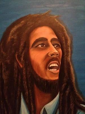 Bob Marley Art Print by Biren Biren