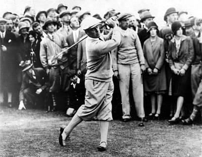 Bobby Jones At The British Amateur Golf Art Print