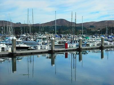 Photograph - Bodega Bay Harbor by Kelly Manning