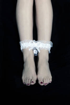Red Nail Polish Photograph - Bonded Legs by Joana Kruse