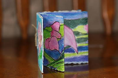 Painting - Book Of Flowers by Jennifer Woodworth