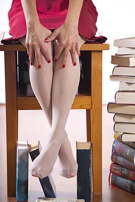 Books Art Print by Joana Kruse