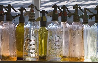 Bottle Of Water   Art Print by Odon Czintos