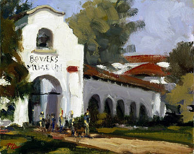 Bowers Museum Art Print by Mark Lunde
