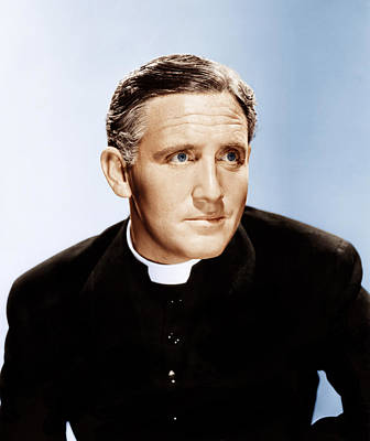 Boys Town, Spencer Tracy, 1938 Art Print by Everett