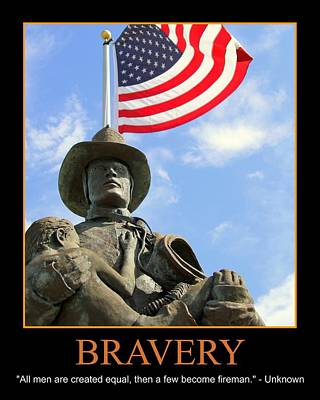Bravery Art Print by PMG Images
