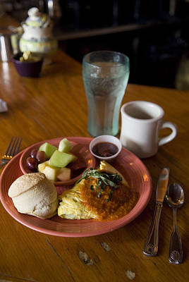 Southern Comfort Photograph - Breakfast At The Original Flying by Krista Rossow