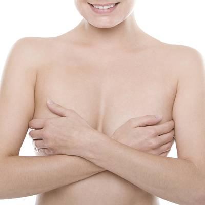 Breast Self-examination Art Print by