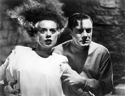Bride Of Frankenstein Photograph - Bride Of Frankenstein, 1935 by Granger
