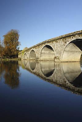 Bridge Over River Nore Bennettsbridge Art Print by Trish Punch