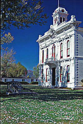 Photograph - Bridgeport City Hall by Gary Brandes