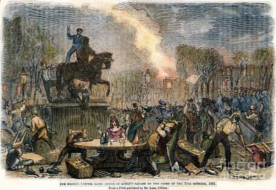 Bristol: Reform Riot, 1831 Art Print by Granger
