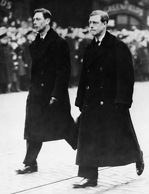 King George V Photograph - British Royal Family. Prince Albert by Everett