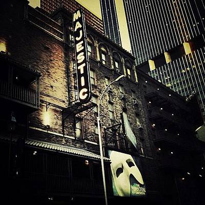 Musical Photograph - Broadway Theatre by Natasha Marco