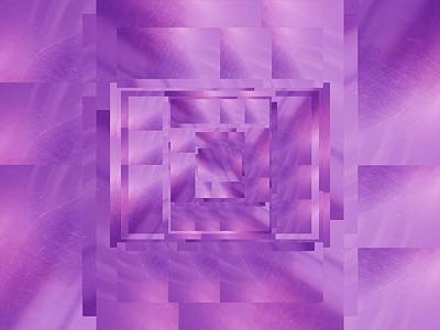 Digital Art - Brushed Purple Violet 11 by Tim Allen