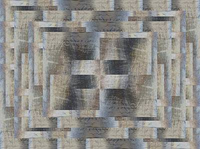Digital Art - Brushed Strokes 4 by Tim Allen