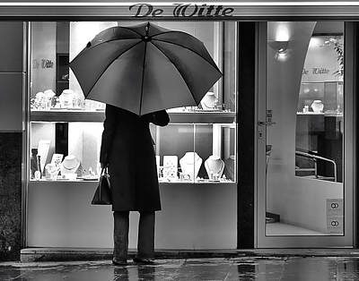 Street Scene Photograph - Brussels by Steven Richman