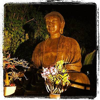Golden Photograph - Buddha by Darice Machel McGuire