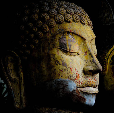 Photograph - Buddha Image by Chua  ChinLeng